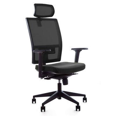 Ergonomická židle M1 s opěrkou hlavy a područkami - 1