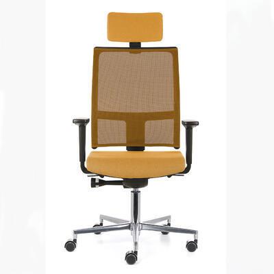 Ergonomická židle TAU/P s opěrkou hlavy a područkami - 1