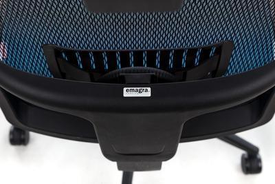 Ergonomická židle M1 s opěrkou hlavy a područkami - 2
