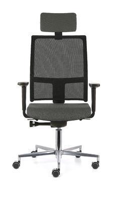Ergonomická židle TAU/P s opěrkou hlavy a područkami - 2