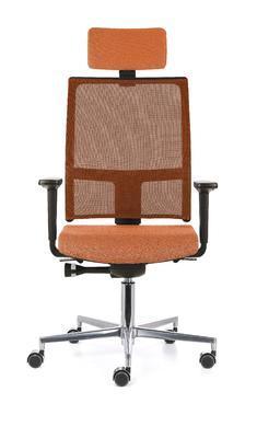 Ergonomická židle TAU/P s opěrkou hlavy a područkami - 3