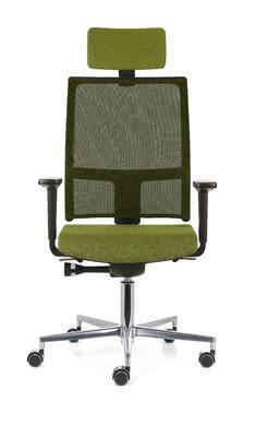 Ergonomická židle TAU/P s opěrkou hlavy a područkami - 4
