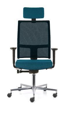 Ergonomická židle TAU/P s opěrkou hlavy a područkami - 5