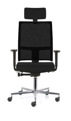 Ergonomická židle TAU/P s opěrkou hlavy a područkami - 6